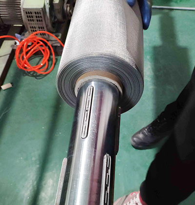 Stainless Steel Mesh Coiling